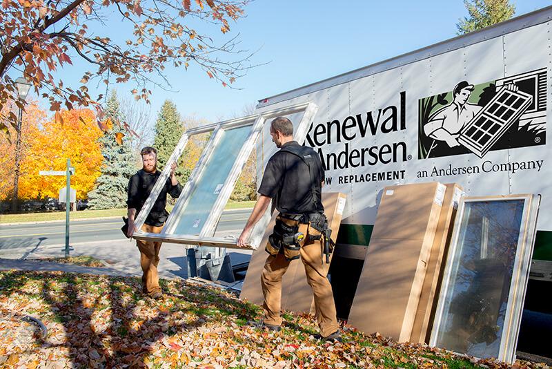 renewal by andersen window installation work